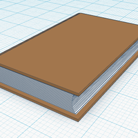 Small Simple Book 3D Printing 114018