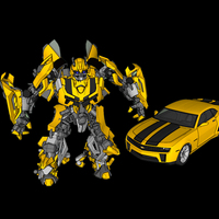 Small Bumblebee & Camero - Transformers 3D Printing 114028