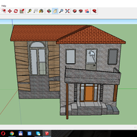 Small Haunted house  3D Printing 114112