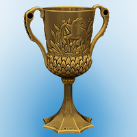 Small Hufflepuff's Cup 3D Printing 114129