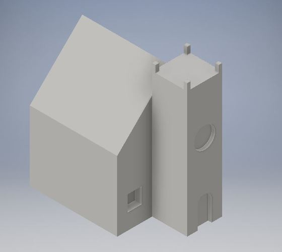 Student Designed House #3 3D Print 114270