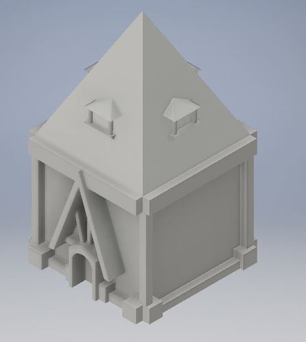 Student Designed House #4 3D Print 114271