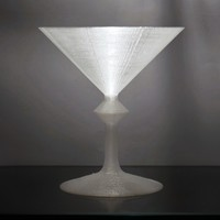 Small Star Trek Replicated Martini 3D Printing 114330
