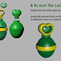 Small Ni No Kuni - The Locket 3D Printing 114384
