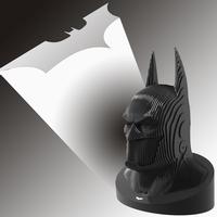 Small Dark knight calls from heart 3D Printing 114457