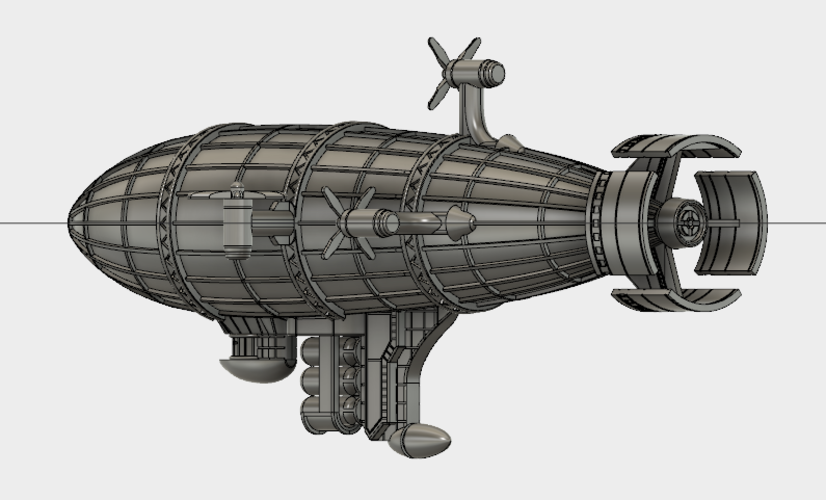 Kirov Airship from Red Alert 3D Print 114488