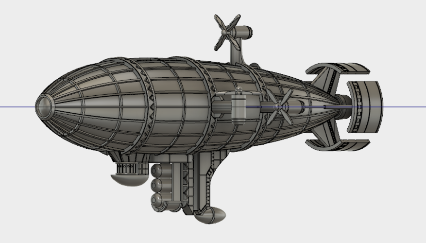 Kirov Airship from Red Alert 3D Print 114490