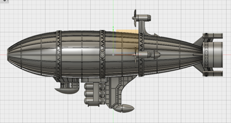 Kirov Airship from Red Alert 3D Print 114495