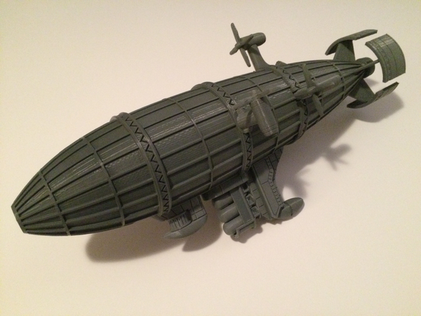 Medium Kirov Airship from Red Alert 3D Printing 114496
