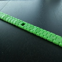 Small Watch-style link bracelet with magnetic closure 3D Printing 114618
