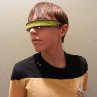Small Geordi La Forge Visor--Star Trek: The Next Generation 3D Printing 114840