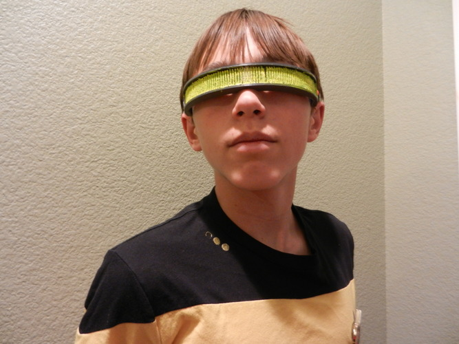 Geordi La Forge Visor--Star Trek: The Next Generation 3D Print 114842