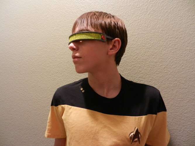 Geordi La Forge Visor--Star Trek: The Next Generation 3D Print 114843