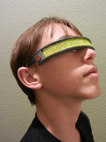 Geordi La Forge Visor--Star Trek: The Next Generation 3D Print 114848