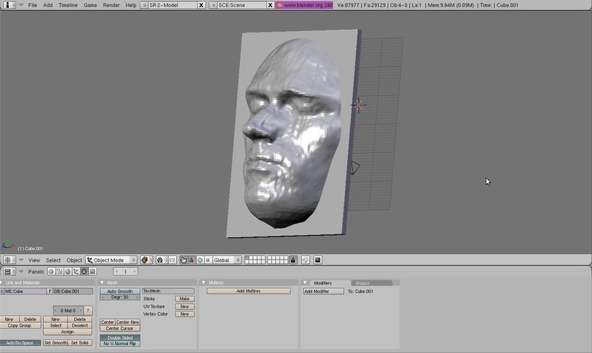 Andy's Face 3D Print 114871