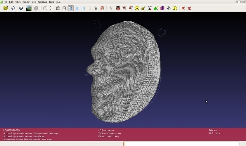 Andy's Face 3D Print 114872