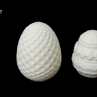 Small Easter Eggs 3D Printing 114901