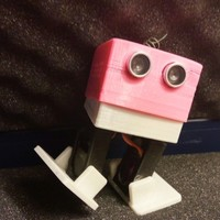 Small Bobwi - Cheap, dancing robot. (with BT and easy to print) 3D Printing 115027