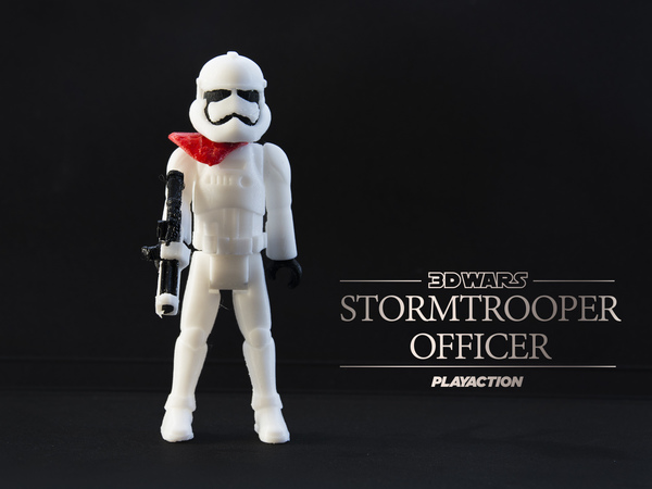 Medium Stormtrooper Officer 2.0 3D Printing 115037