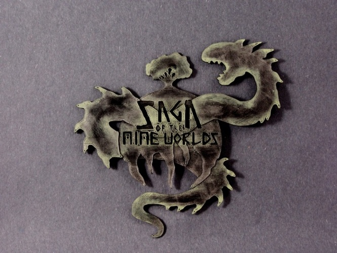 Saga of the Nine Worlds (Logo) 3D Print 1151