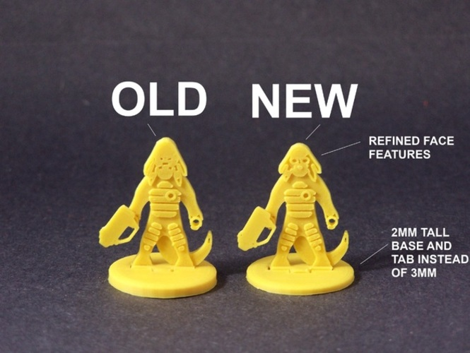 Sehlix Scoundrel (Voidscape Preview) 3D Print 1152