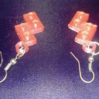 Small Lego S Earrings 3D Printing 115272