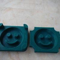 Small smiley potato mold 3D Printing 115281