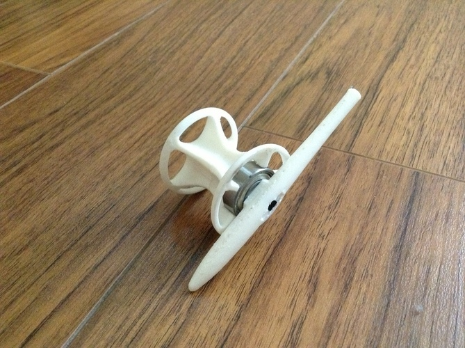 cotton reel cannon 3D Print 115366