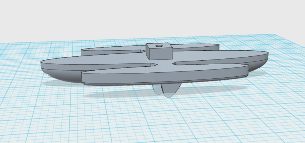 ASIJ 3d boat race contest entry  3D Print 115380