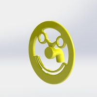 Small Smiley for decoration 3D Printing 115391