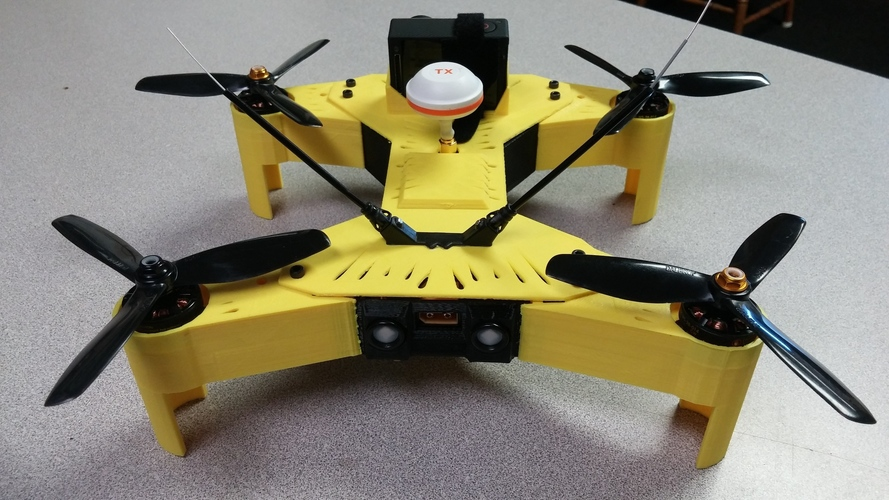 Walkera Runner 250 Racing Drone Full Replacement Shell 3D Print 115397