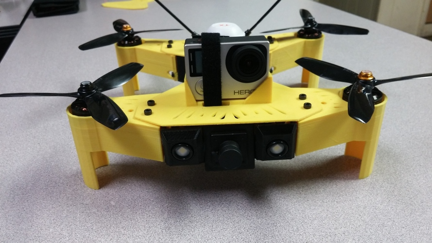 photo regarding 3d Printable Drone named Walkera Runner 250 Racing Drone Total Substitution S