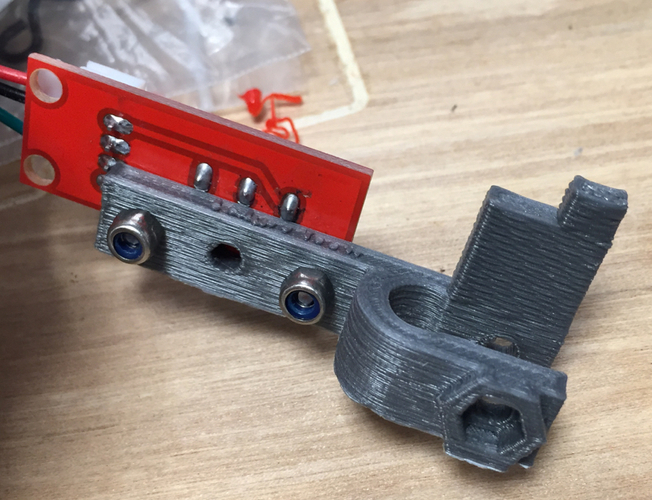 X & Y Endstop Holders for Folger Tech RepRap 2020 Prusa i3 3D Print 115419