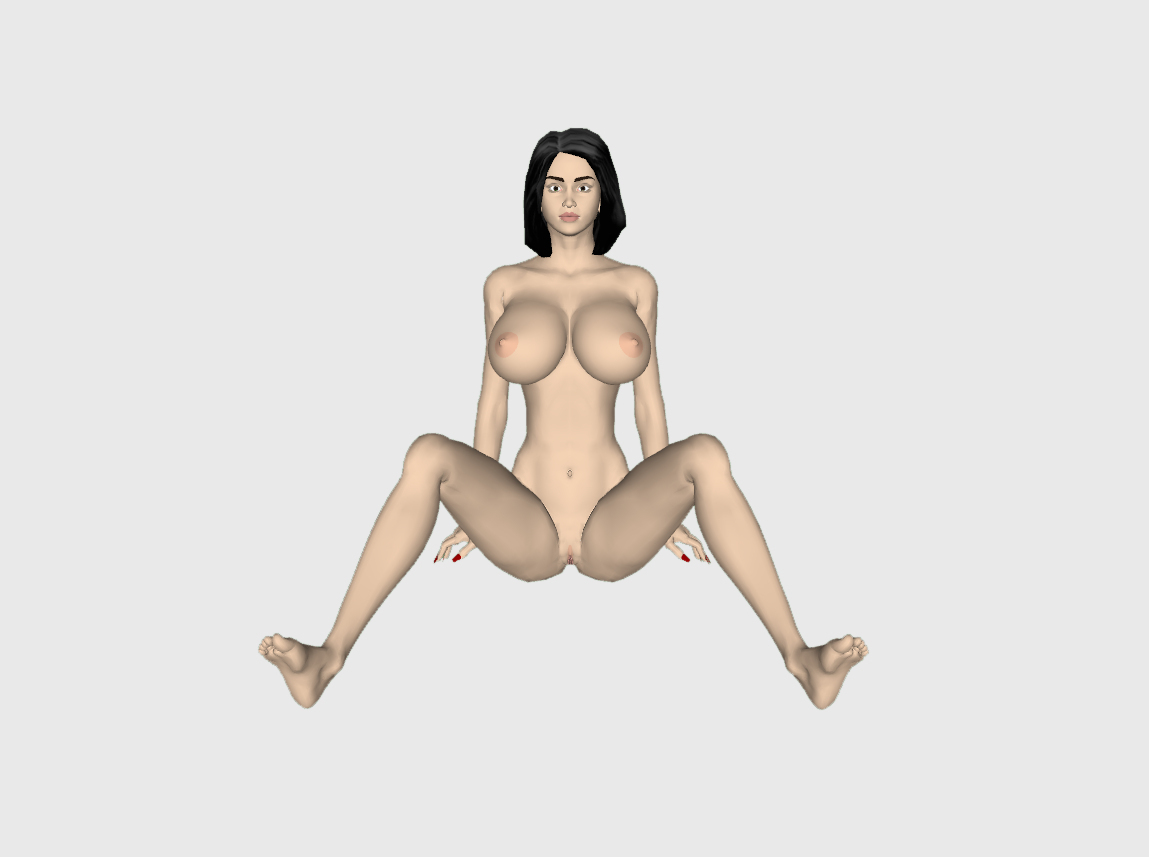 Nude Woman 7 @ Pinshape