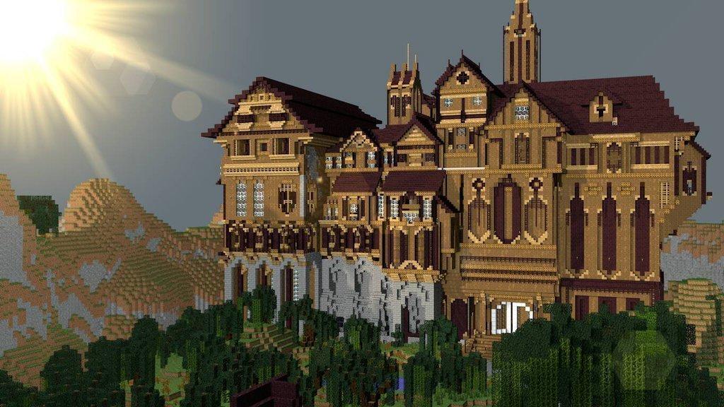 download minecraft map herobrine mansion