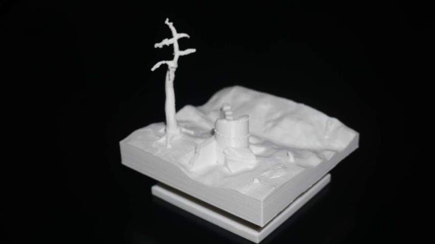 tower in ruins  3D Print 115638