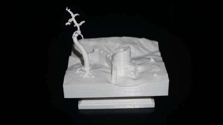 tower in ruins  3D Print 115642