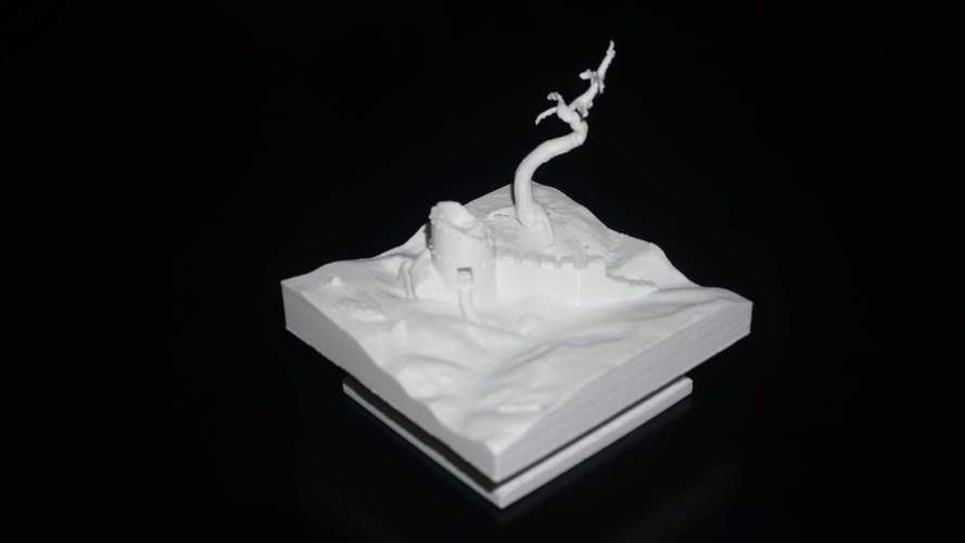 tower in ruins  3D Print 115644