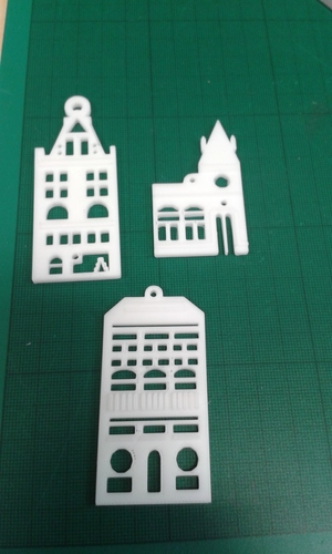 Xmas Tree Decorations 3D Print 115669