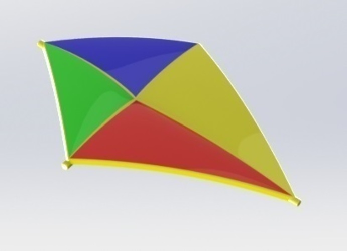 Kite for indoor use 3D Print 115693