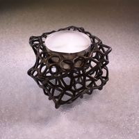 Small CandleHolder 3D Printing 115706
