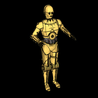 Small C-3PO - Star Wars 3D Printing 115712