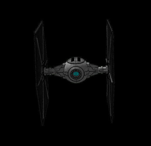 Imperial TIE Fighter - Star Wars 3D Print 115721