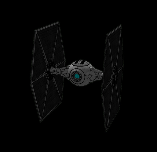 Imperial TIE Fighter - Star Wars 3D Print 115722