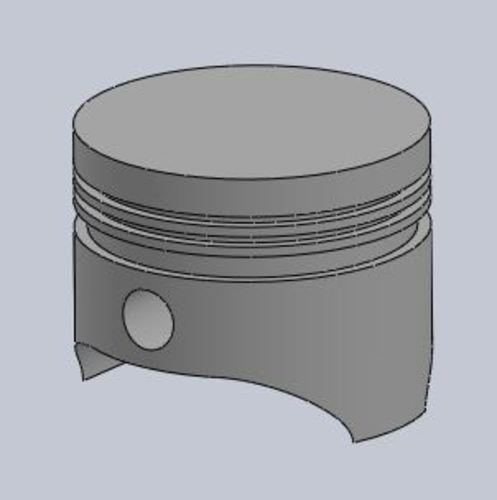 Briggs and Stratton Piston 3D Print 115737