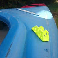 Small Kayak Paddle Holder 3D Printing 115748