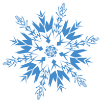 Small AutoCad snowflake 3D Printing 115750
