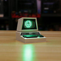 Small Mini Commodore PET with Charlieplexed LED Matrix 3D Printing 115772