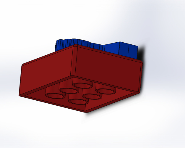 3D Modeling Introduction Lego Design 3D Print 115943