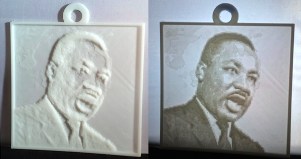 Medium Lesson Plan: 3D Printed Lithophane 3D Printing 115956